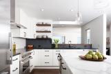 Sắc màu ấm cúng cho không gian bếp