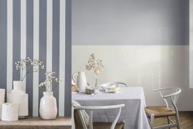 Hướng dẫn sơn tường kẻ sọc độc đáo cho nhà thêm xinh