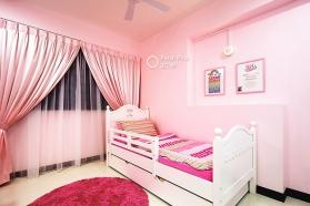 Mẫu nội thất màu sơn hồng phấn đẹp và hài hòa nhất