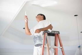 Hướng dẫn quy trình sơn trần thạch cao